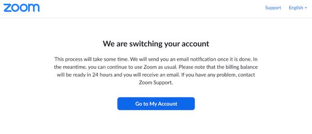 メール 変更 zoom アドレス