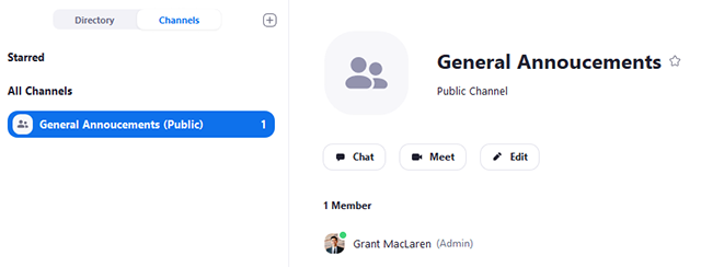 Getting Started With Channels (Group Messaging) – Zoom Help Center