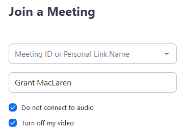 Video Or Microphone Off By Attendee – Zoom Help Center