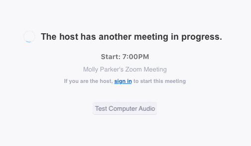 Can I Host Concurrent Meetings? – Zoom Help Center