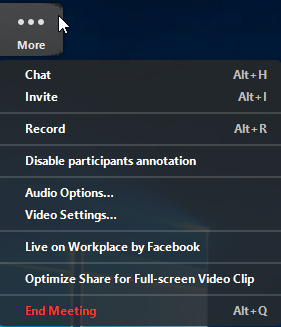In-Meeting Chat – Zoom Help Center