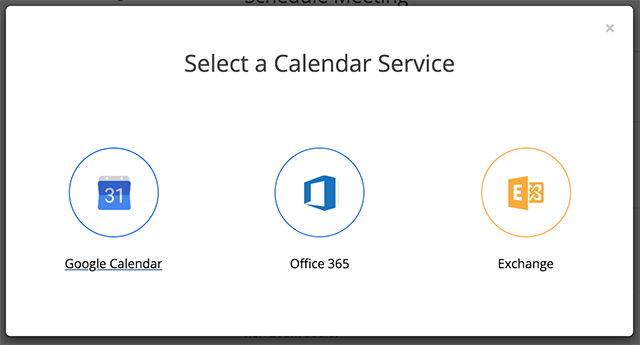 Desktop Client Calendar Integration Zoom Help Center