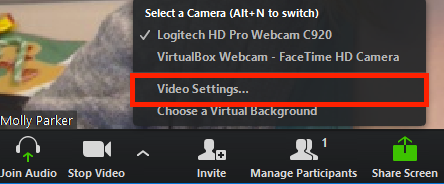 How Do I Test My Video? – Zoom Help Center