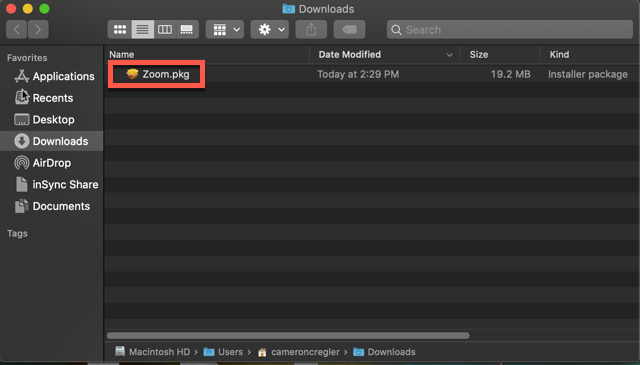 Do you have to download zoom on a mac