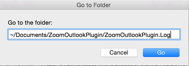 Troubleshooting Log for Outlook Plugin on Mac – Zoom Help Center