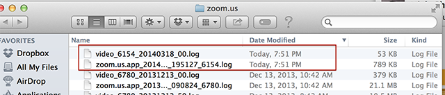 Troubleshooting Log For Mac – Zoom Help Center