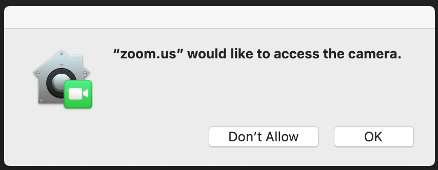 Using the Zoom Client and Zoom Rooms with macOS – Zoom Help Center