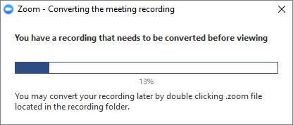 Local Recording Zoom Help Center