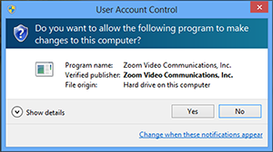 Remote Support Session – Zoom Help Center