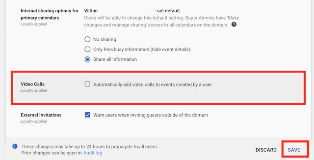 Disable Google Hangout on Google Calendar – Zoom Help Center