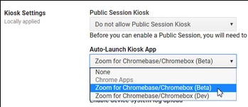 Setting Up Zoom Rooms on ChromeOS – Zoom Help Center