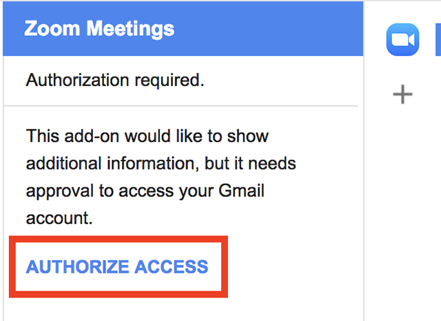 Gmail Add-On – Zoom Help Center