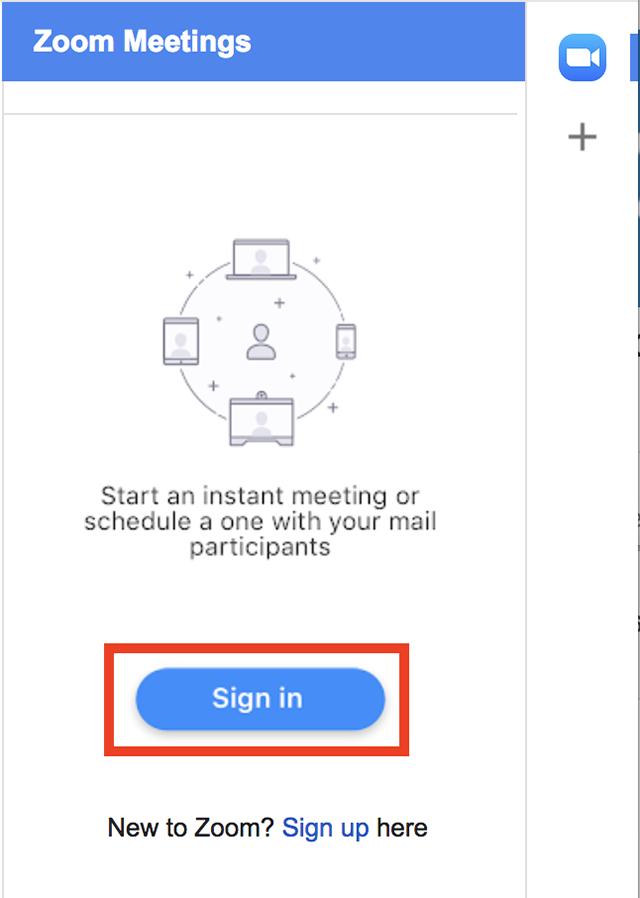 Gmail Add-On – Zoom Help Center