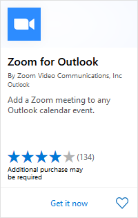Zoom for Outlook Add-In (Web and Desktop) – Zoom Help Center