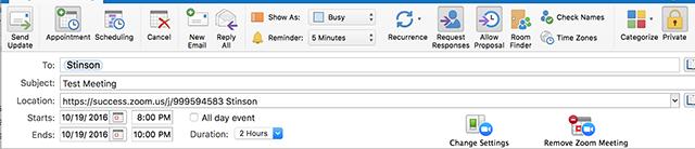Schedule Meetings in Zoom Rooms (Outlook) – Zoom Help Center
