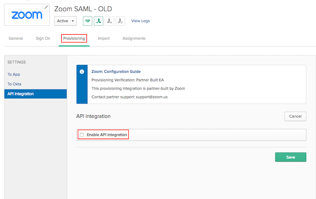 Configuring Zoom with Okta – Zoom Help Center