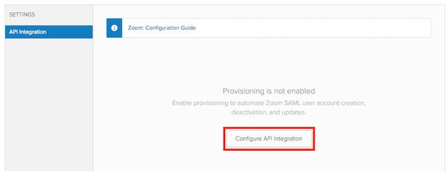 Configuring Zoom with Okta – Zoom Help Center
