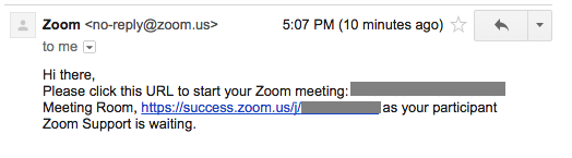 Receiving email notifications when attendees join meeting before host – Zoom  Help Center