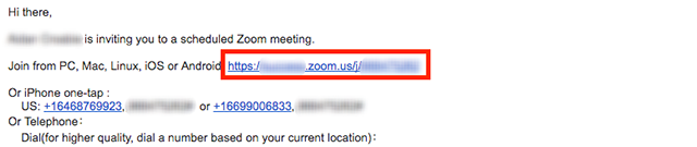 Joining A Zoom Video Call Zoom Help Center