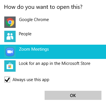 Enabling and Using Click to Dial – Zoom Help Center