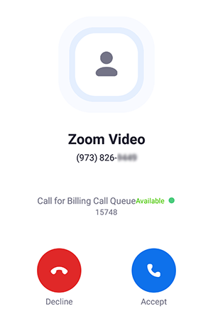 d93cdb2bb97fe1 Call queue: If the call was routed through a call queue, you will see Call  for followed by the call queue name.