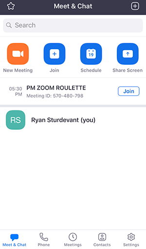 Getting Started with iOS – Zoom Help Center