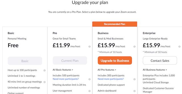 How do I upgrade my existing plan? – Zoom Help Center