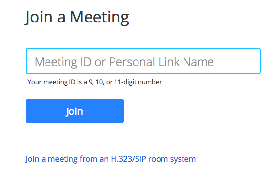 Joining a Meeting – Zoom Help Center