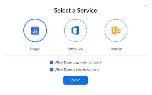 Desktop Client Calendar and Contacts Integration – Zoom Help
