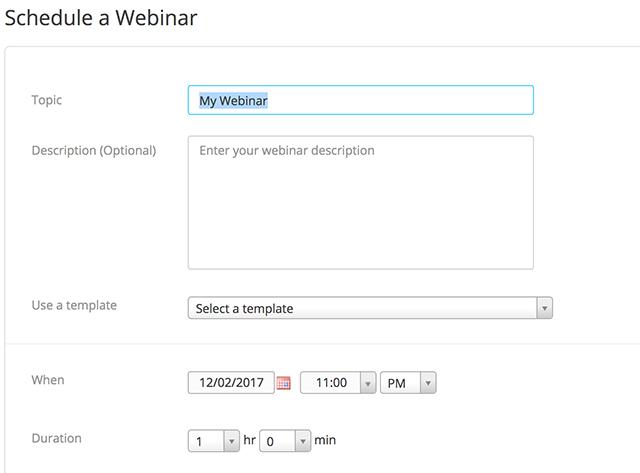 Webinar flyer template webinar templates for email marketing.