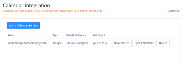 Setting Up Zoom Rooms with Google Calendar – Zoom Help Center