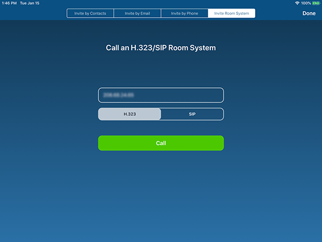 H 323/SIP Room Connector Call-Out from Zoom Rooms – Zoom