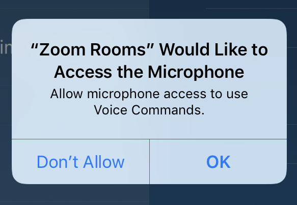 Voice Command with Zoom Rooms – Zoom Help Center
