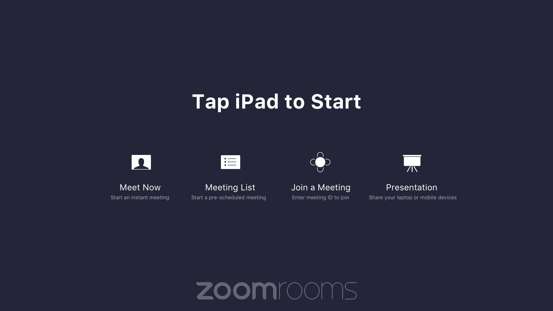 Sample icons to create your own background image : Zoom Rooms icons ...